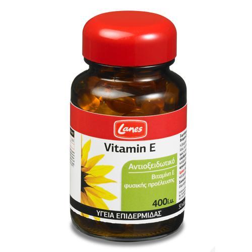 Lanes Vitamin E 400iu 30 capsules