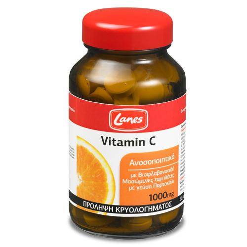Lanes Vitamin C 1000mg 60 chewable tablets
