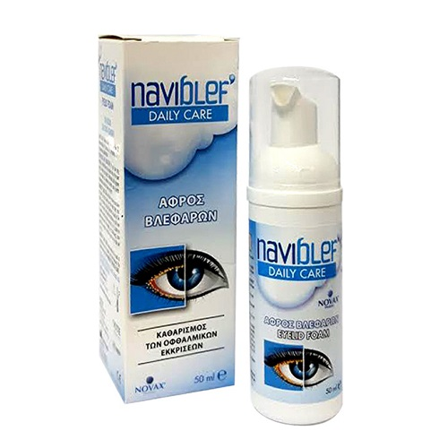 Kite Hellas Naviblef Daily Care Eyelash Cleanser 50ml