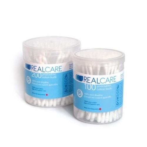 Real Care Cotton Pads 100% Pure Cotton 100pcs