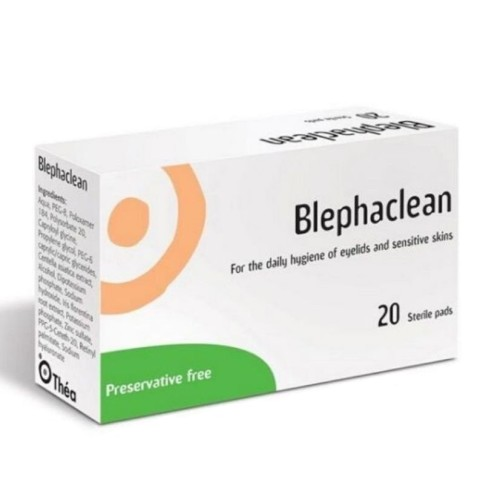 Thea Blephaclean Sterile Eyelid Wipes For Blepharitis 20pieces