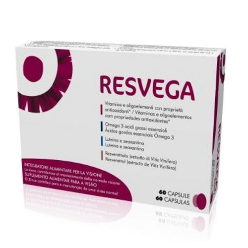 Thea Resvega Dietary Supplement that Helps to Maintain Normal Vision 60caps