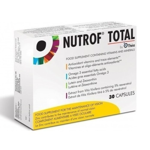 Thea Synapsis Nutrof Total 30 capsules