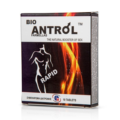 Medichrom Bio Antrol Rapid the Natural Booster of Sex 10tabs