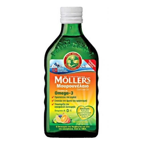 Moller's Cod liver Oil Tutti Frutti Flavor 250ml