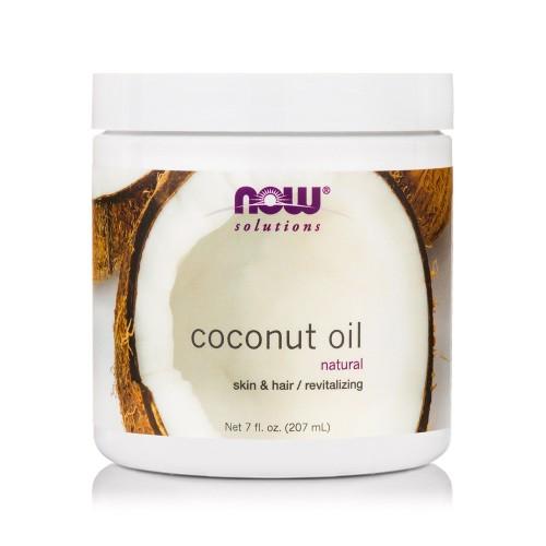 Now Foods Coconut Oil Natural Skin & Hair Revitalizing 207ml