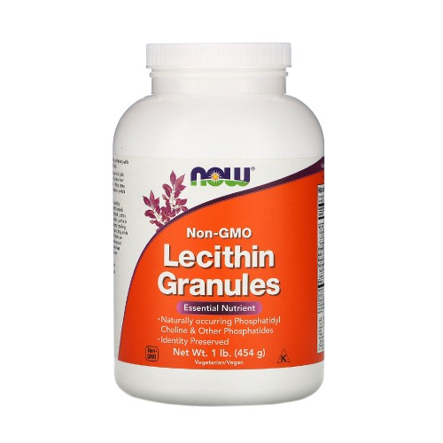 Now Foods Lecithin Granules 454gr Unflavoured