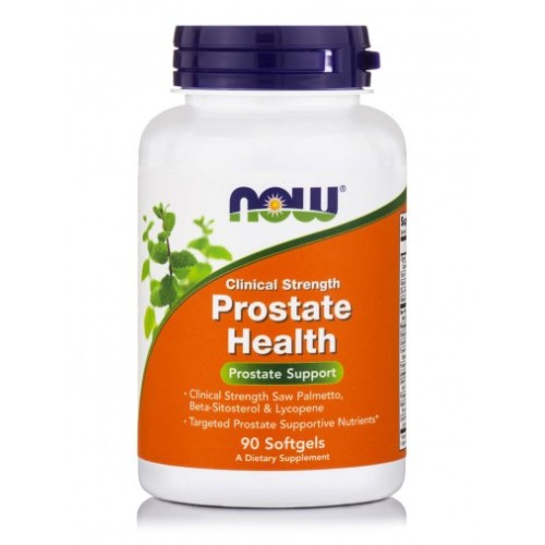 Now Foods Prostate Health Clinical Strength 90 soft capsules