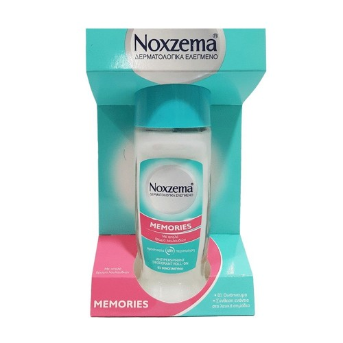 Noxzema Memories Deodorant Roll-On with Flower Aroma 50ml
