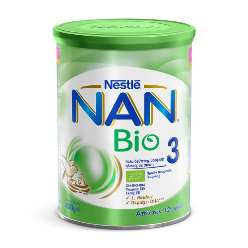 Nestle Nan Bio 3 Baby Milk Powder 12m+ 400g