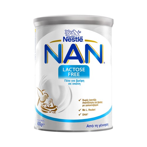 Nestle Nan Lactose Free Milk for Babies with Lactose Intolerance 400g