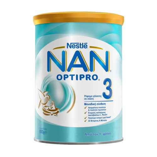 Nestle Nan Optipro 3 Milk Powder from the 1st Year 800g