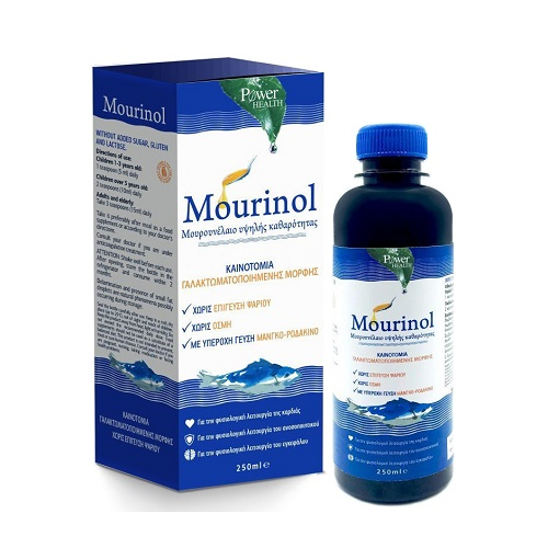 Power Health Mourinol Cod Liver Oil with Great Mango - Peach flavor 250ml