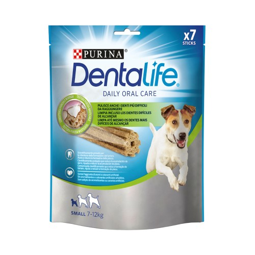 Purina DentaLife Daily Oral Care Chew Treats for Small Dogs (7-12 kg) 7 Sticks 115g