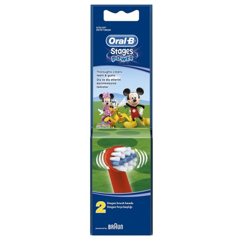 Oral-B Stages Power Mickey 2pcs
