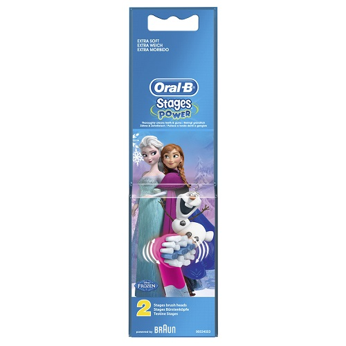 Oral-B Stages Power Frozen Replacement Heads 2pcs