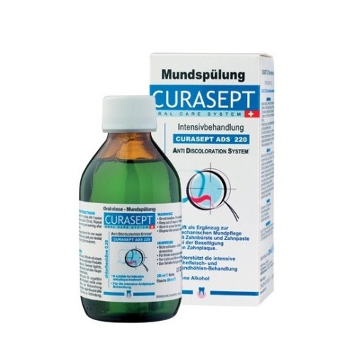 Curaprox Curasept Ads 220 Oral Solution 0.20% CHX 200ml