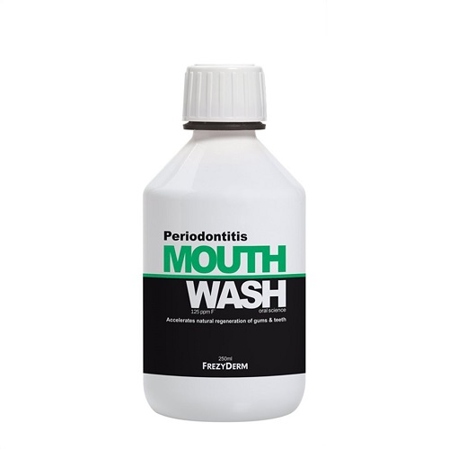 Frezyderm Periodontitis Mouthwash Στοματικό Διάλυμα Κατά Της Περιοδοντίτιδας 250ml