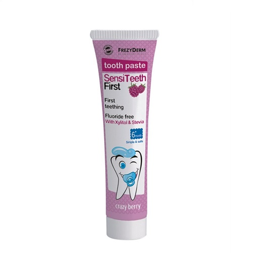 Frezyderm SensiTeeth First Tooth Paste Toothpaste Primer 6m +, 40ml