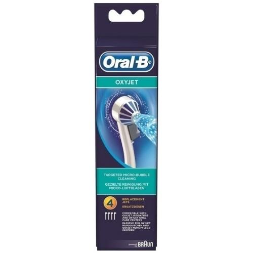 Oral-B Nozzle Oxyjet Ανταλλακτικά, για τις συσκευές Oxyjet, 4 τμχ