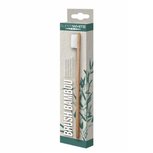 Superwhite Bamboo Toothbrush, 1pcs