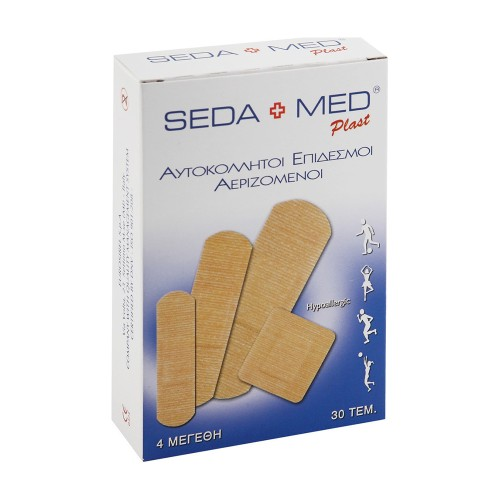 Labopharm Seda Med Classic Patches of Different Sizes 30pcs