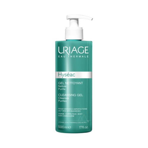Uriage Hyseac Cleansing Gel Combination to Oily Skin 500ml