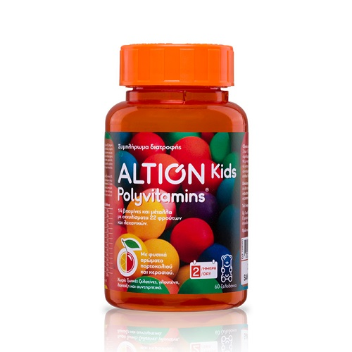 Vian Altion Kids Polyvitamins 60 Jellies
