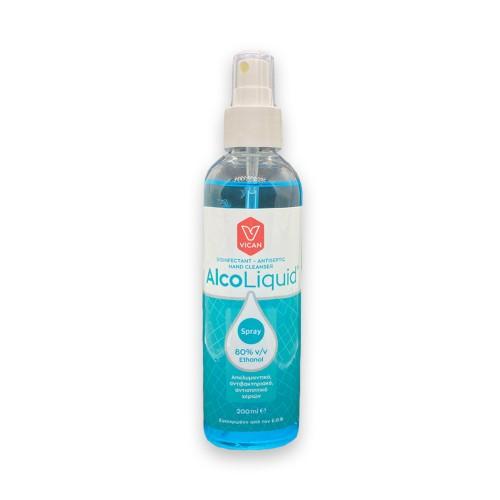 Vican AlcoLiquid Spray Mild Hand Sanitizer 200ml