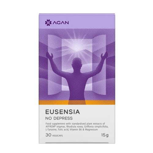 Agan Eusensia No Depress 30 herbal capsules
