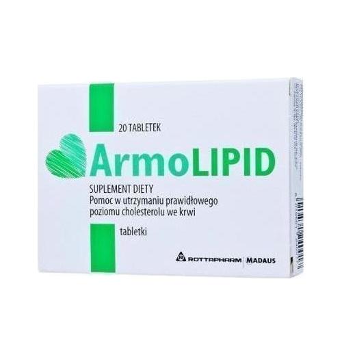 Rottapharm ArmoLIPID 20tabs