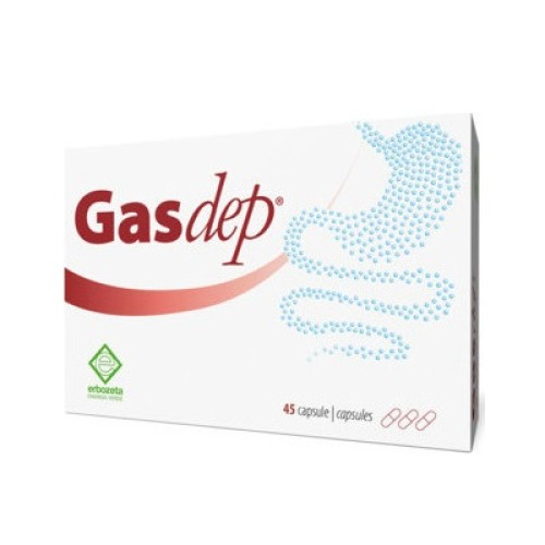Erbozeta GasDep - Digestion, Flatulence, and Indigestion 45 capsules