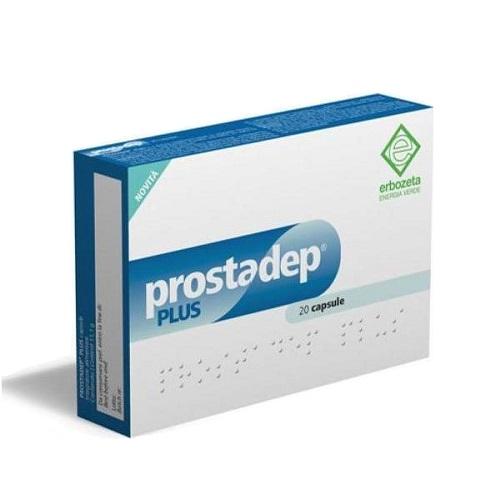 Erbozeta Prostadep Plus - Prostate Supplement, 20 capsules