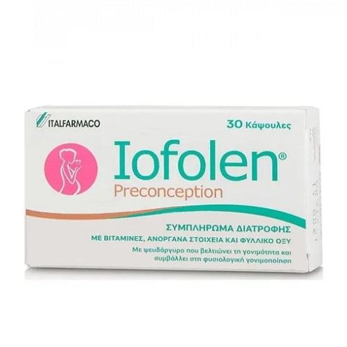 Italfarmaco Iofolen Preconception for Women who Wish to Become Pregnant 30caps
