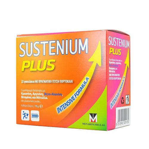Menarini Sustenium Plus for Energy Orange Taste 22sachets