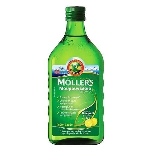 Moller's Cod liver Oil Lemon Flavor 250ml