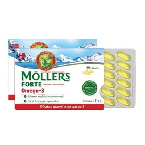 Moller's Forte Omega-3 30caps