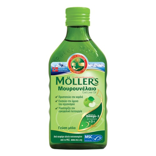 Moller's Cod liver Oil Apple Taste 250ml