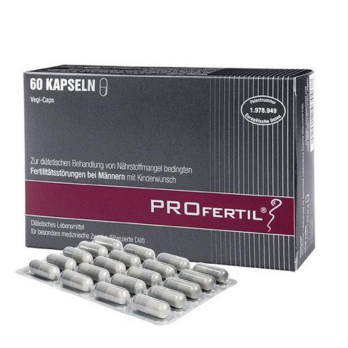 ProFertil Men for the Treatment of Fertility Disorders 60caps