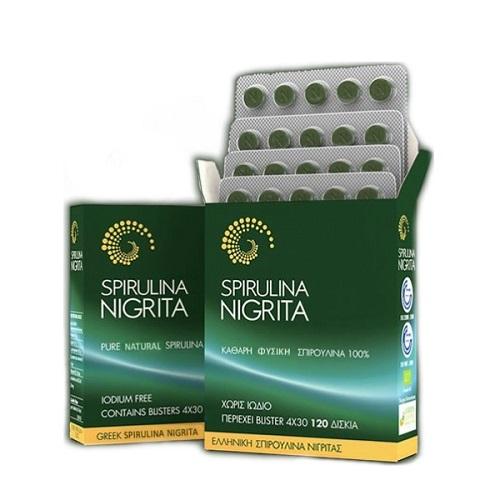 Spirulina Nigrita Spirulina Nigrita 120 tablets
