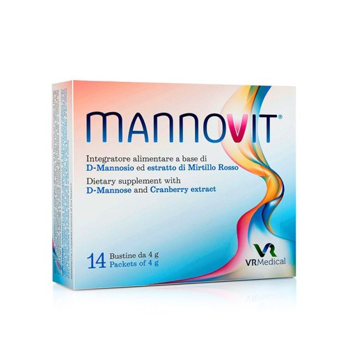 Vita Research Mannovit for Urinary Tract Infections 14 sachets