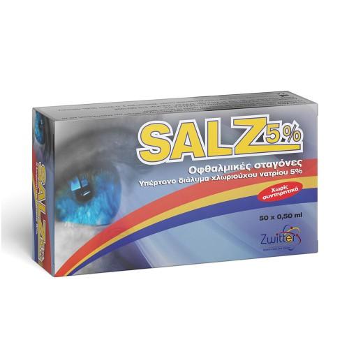 Zwitter Salz 5% Eye Drops 50amps
