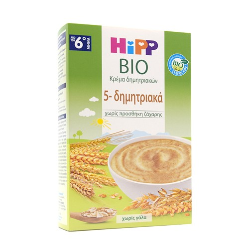 Hipp 5 Cereal Cream from the 6th Month 200gr