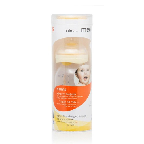 Medela Calma Plastic Bottle with Silicone Teat 150ml