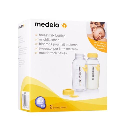 Medela Breast Milk Bottles 2x250ml