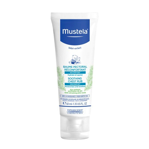 Mustela Soothing Chest Rub Cream 40ml