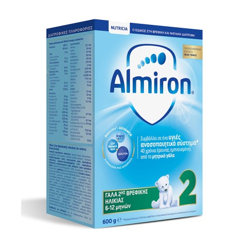 Nutricia Almiron 2 Baby Milk from 6-12 months 600g