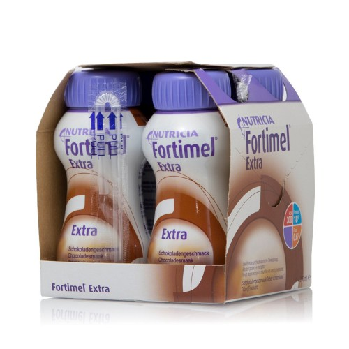 Nutricia Fortimel Extra High Protein Drink with Chocolate Flavor 4x200ml