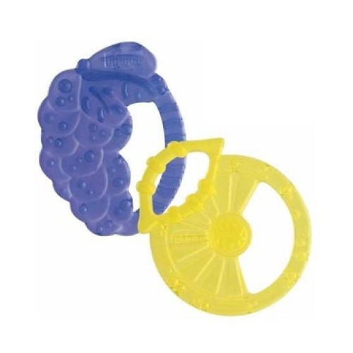 CHICCO Soft Relax, Lemon & Grape Teeth 0m +