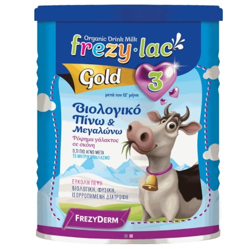 Frezylac Gold 3 Organic Cow Milk Powder after 12 months 400g